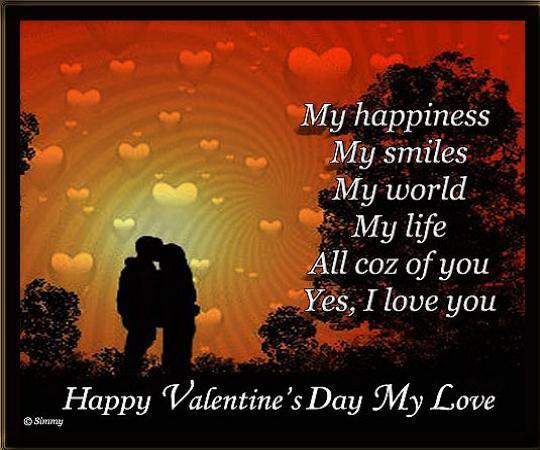 Nice Happy Valentines Day Messages – Valentine Card Messages for Boyfriend