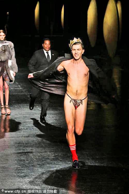 Justin Kammern nackt