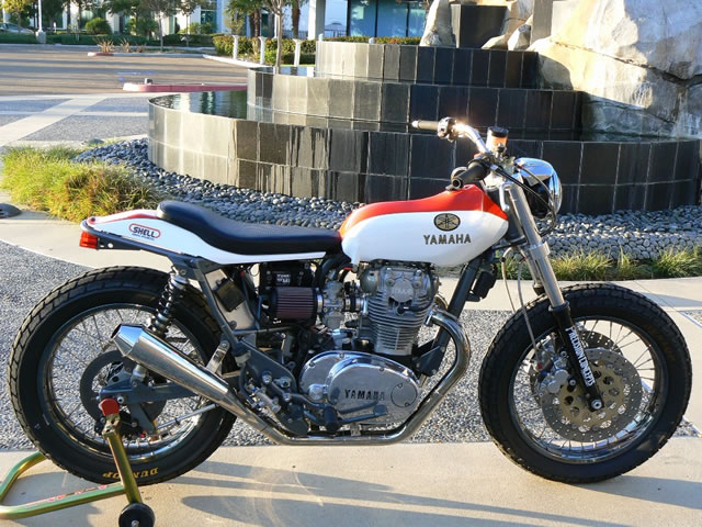 Yamaha Xsspecial Exhaust