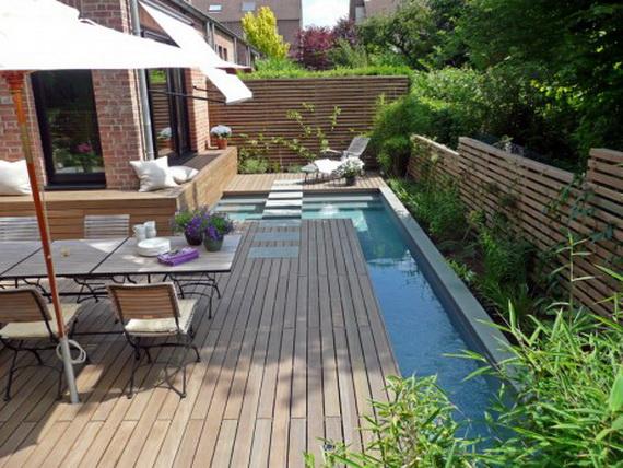Blog de muebles jard n dise o de piscina minimalista para - Jardin en terraza pequena ...