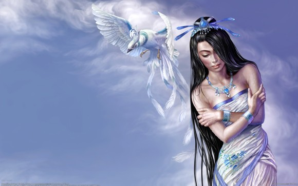 CG Art Wallpaper Tang Yuehui Artwork 13