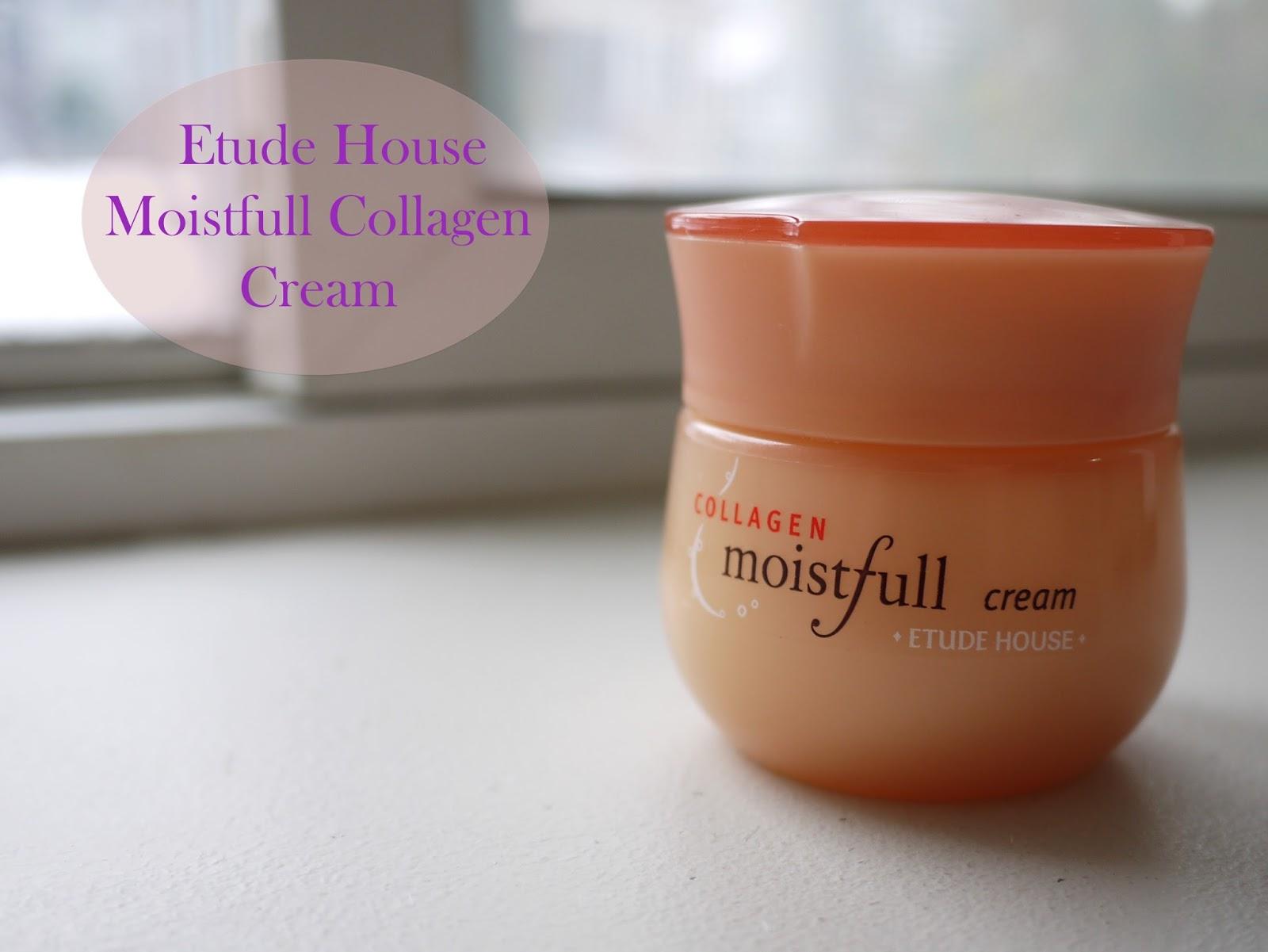 Etude House's Moistfull Collagen Cream review