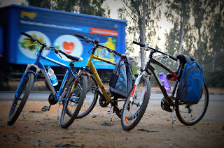 Bicycle Trip to Shivaganga, Near Tumkur