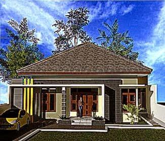 gambar rumah desa modern: Model model rumah minimalis terbaru design rumah minimalis