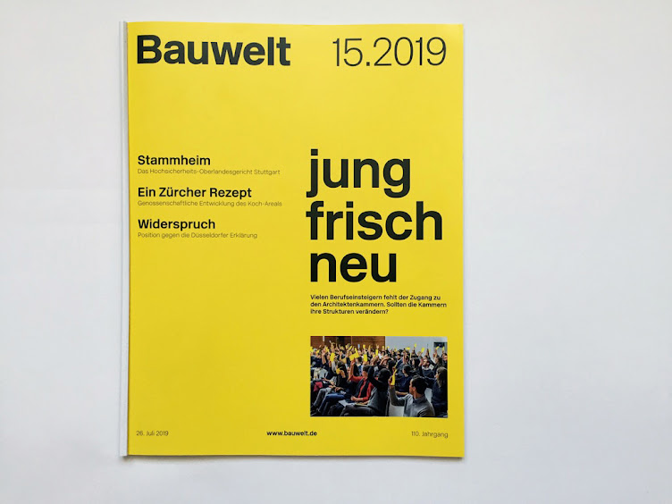 Bauwelt 15.2019 OLG Stammheim Müller Reimann Architekten