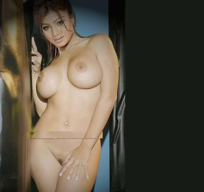 Namitha bathing nude showing her melons nude boobs