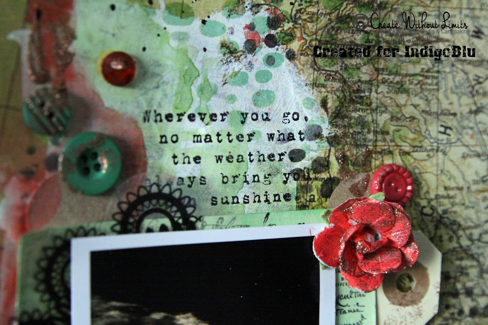 How to scrapbook like poppy - Love This Quote It S A Stamp From The Grand Tour Ii Set The Whole Set Works Really Well With All Kind Of Travel Related Projects