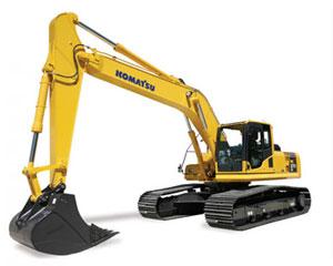 Komatsu Excavators PC270LC-8