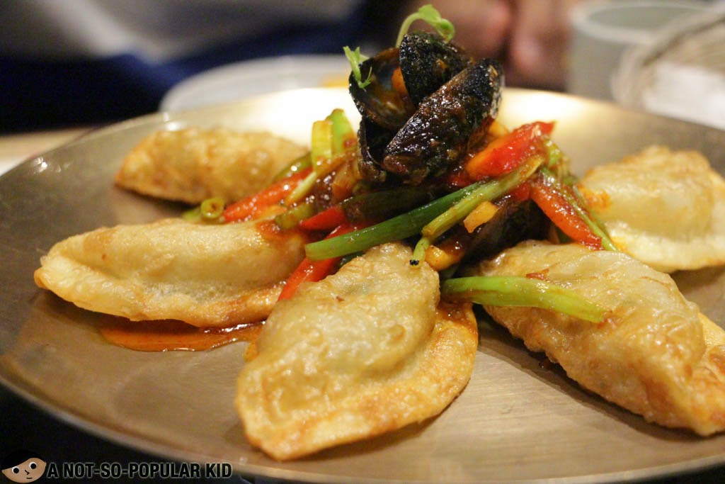 Spicy Seafood Dumpling Appetizer of Bulgogi Brothers