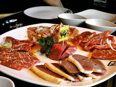 Gyu-Kaku Meat Platter Queenstown