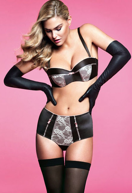 Bar Refaeli sexy in underwear  fashion