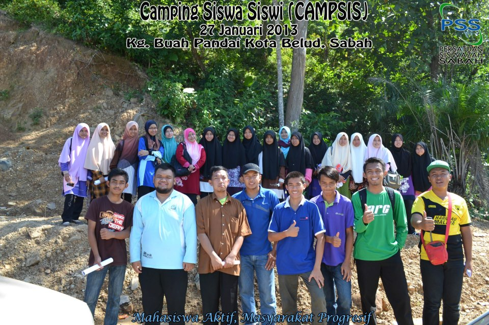 Camping Siswa Siswi (CAMSIS) Januari 2013