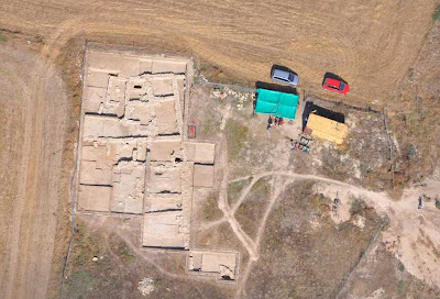 City quarters from Late Bronze Age revealed