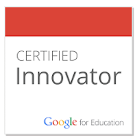 Mrs. R is a Google for Education Certified Innovator