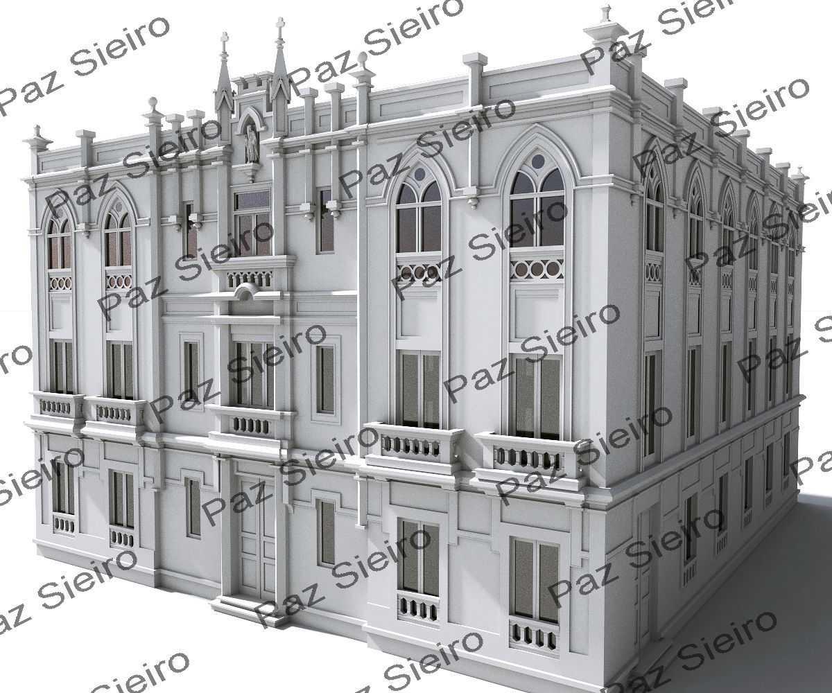 Proxecto residencia neog tica 1903 antiga r a vicente - Arquitectos ourense ...