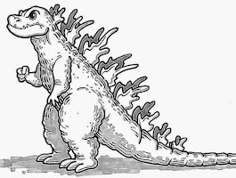 Cute Lizard Coloring Pages