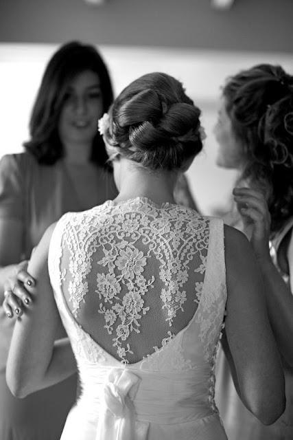 robe de mariée dos dentelle confidentiel création