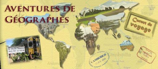 Aventures de Géographes