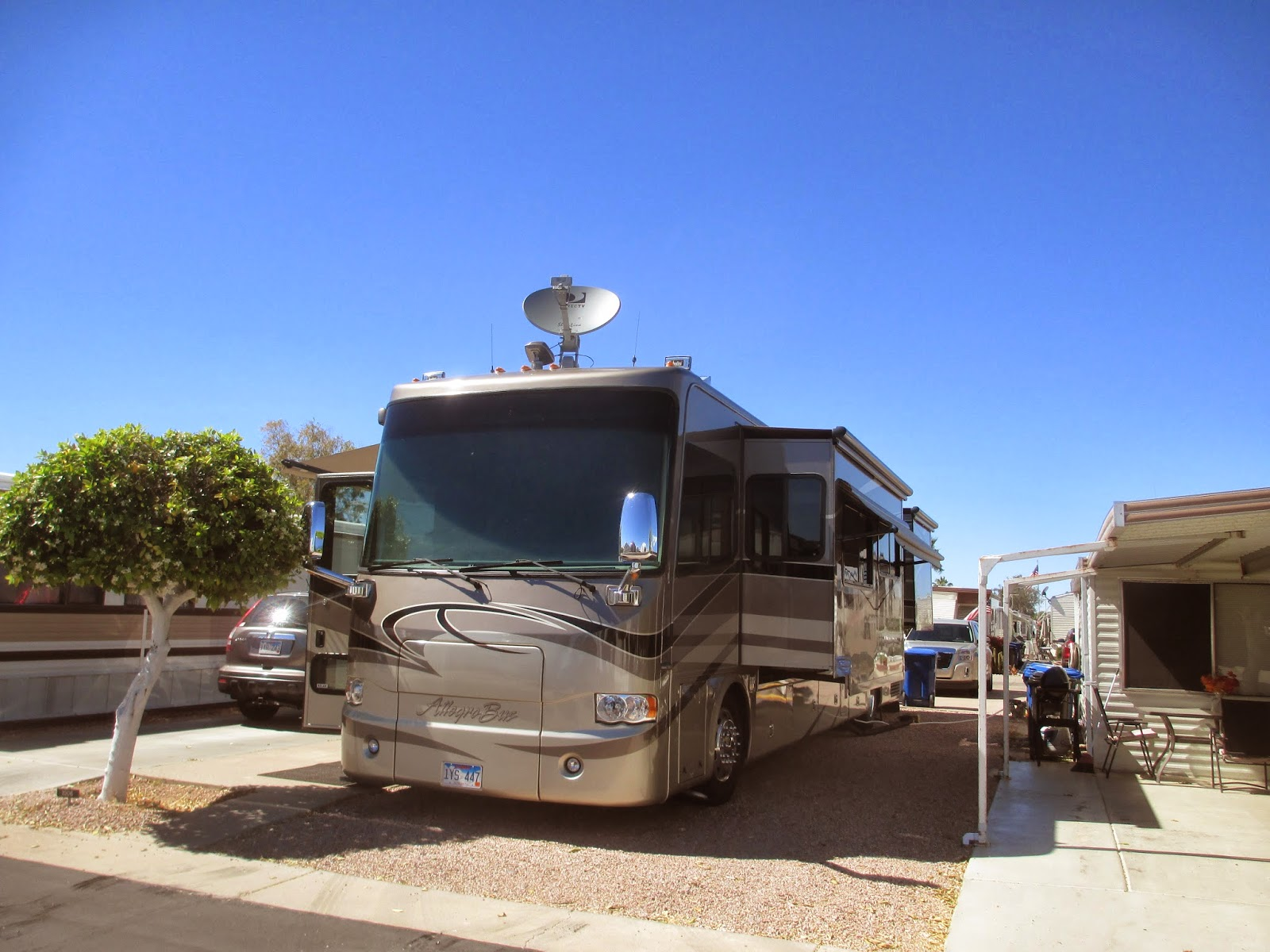 Good News Is That Parking Lot Is Almost >> The Roadrunner Chronicles: Thoughts on Our Stay at Mesa Regal RV Resort