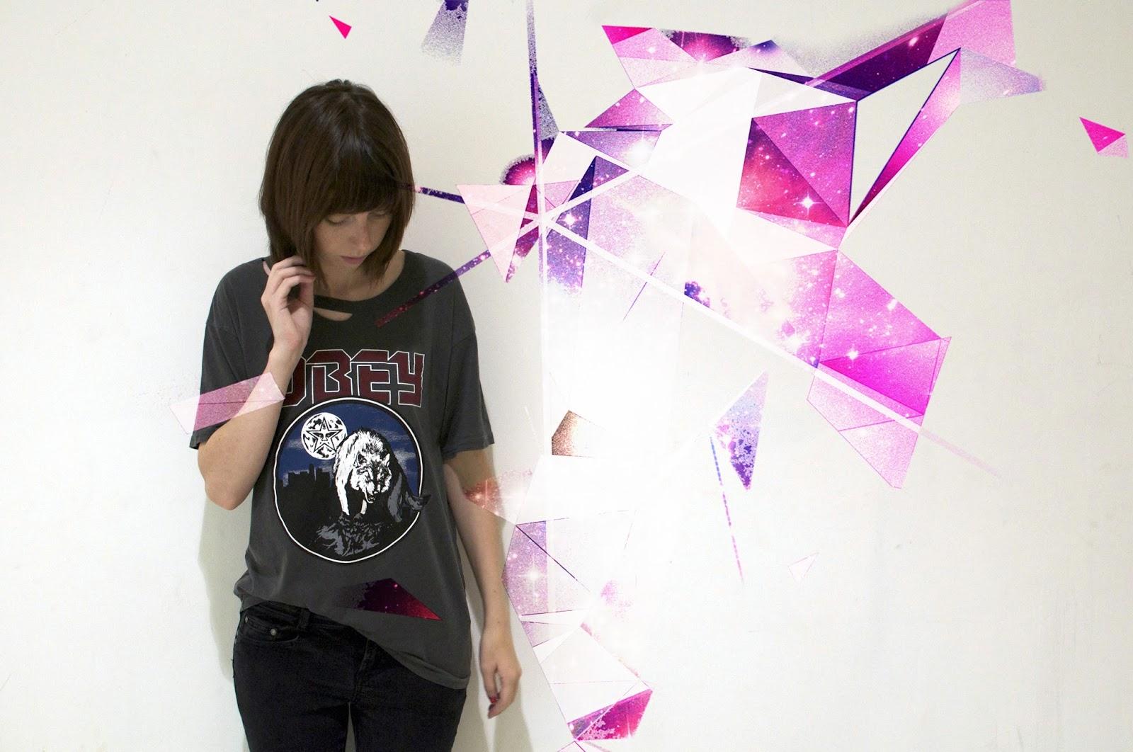 UK street style, obey style, women's obey fashion,