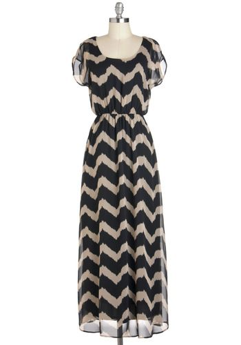 Stylish And Trendy Maxi Dress