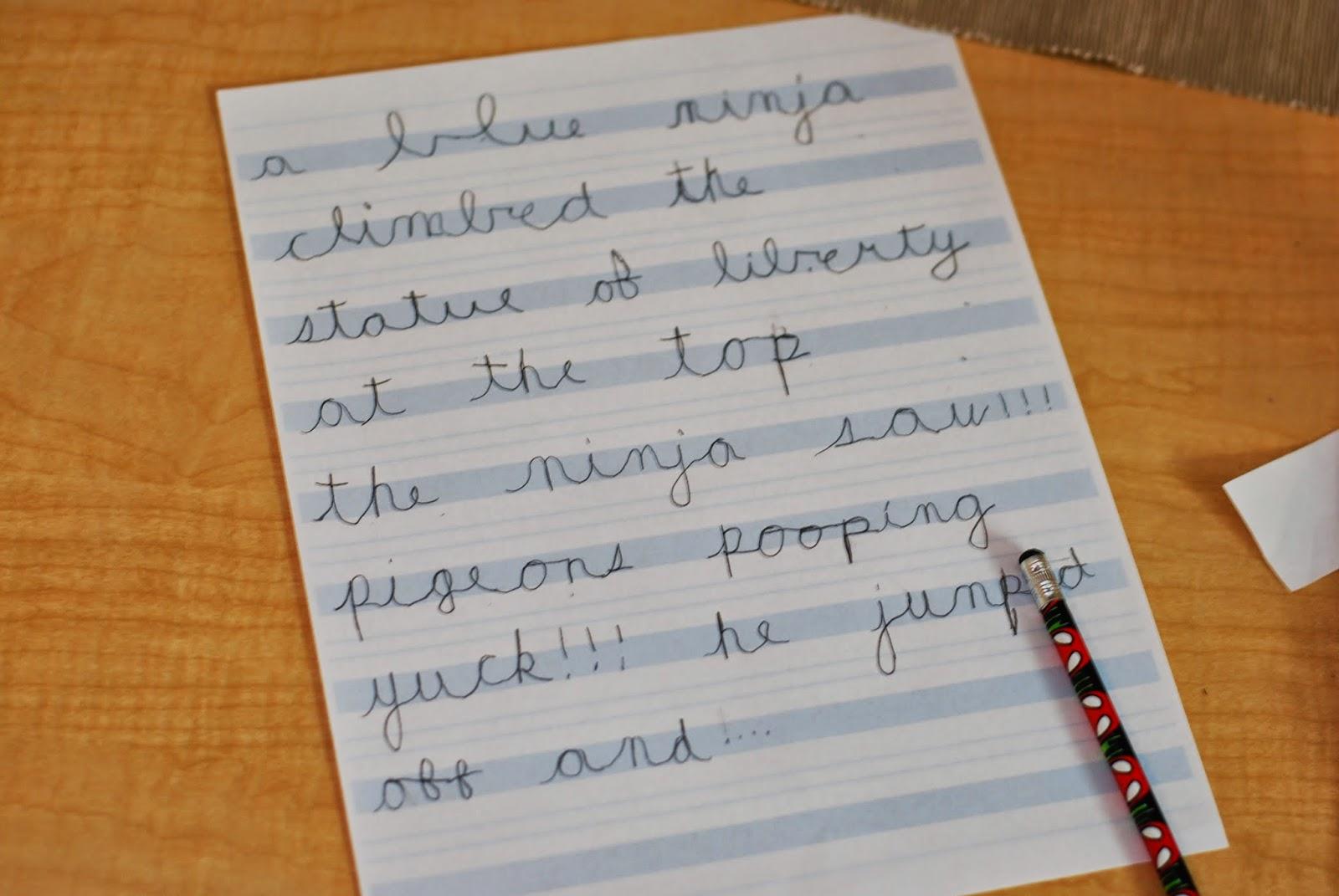 Writing essays on montessori