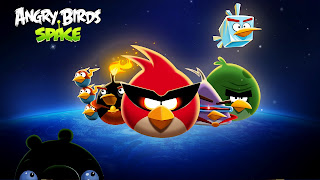 Angry Birds Space All Characters HD Wallpaper