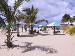 La Playa Jabberwock en medio del Caribe