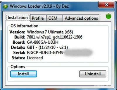 windows loader 2 0 9 Download Windows 7 Loader 2.0.9