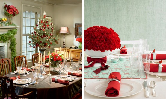 Creative Christmas table decorating picture 16
