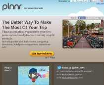 Planificar viajes online Plnnr