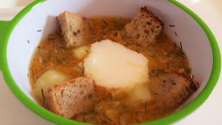 Zupa ogórkowa dla niemowlaka, pierwsza zupka
