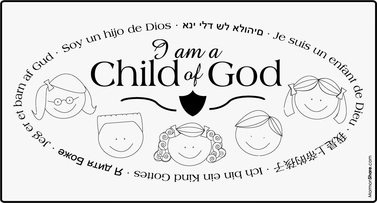 children of god that jesus calls us to be but until then we are able to strive to be the best we can possibly be showing the following - A Child God Coloring Page
