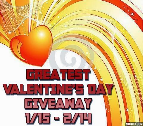Greatest Valentine's Day Giveaway