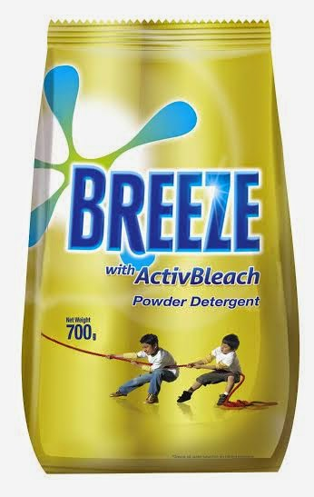 breeze activbleach powder detergent