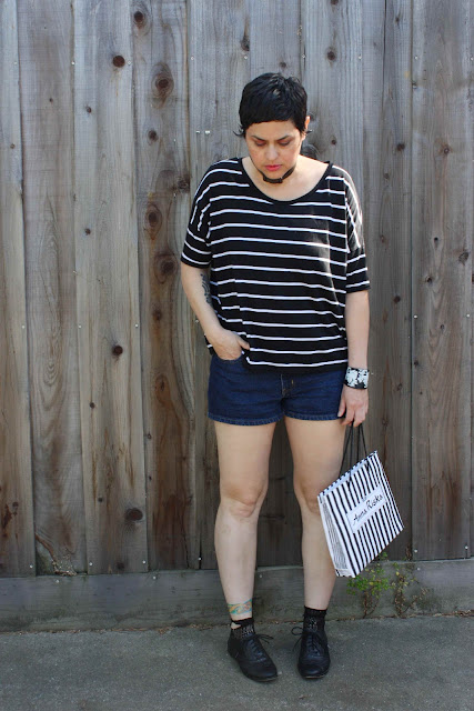outfit post: Striped Like Santina