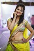 Aswi Glamorous Photos in Half Saree-thumbnail-1