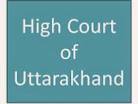 Uttarakhand High Court Result 2013-2014