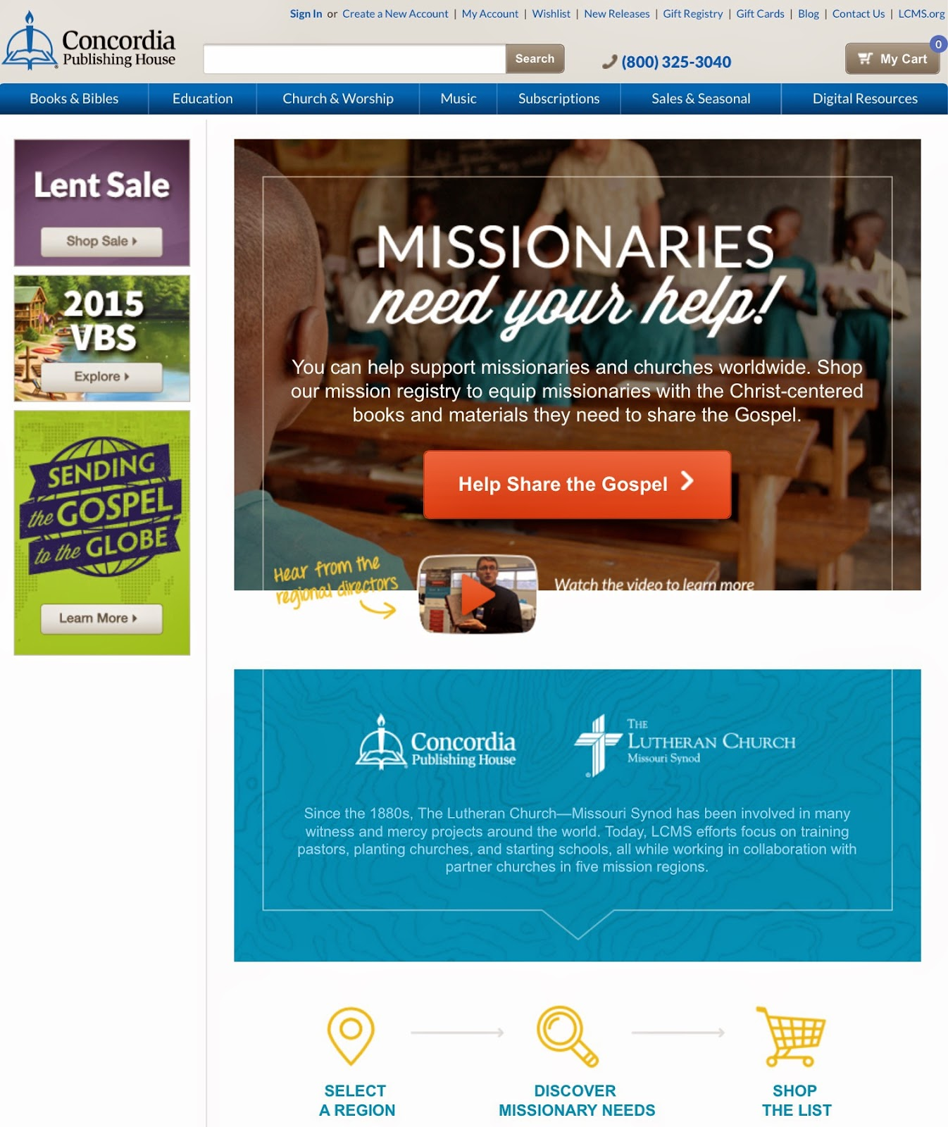 CPH Missionary Gift Registry Video