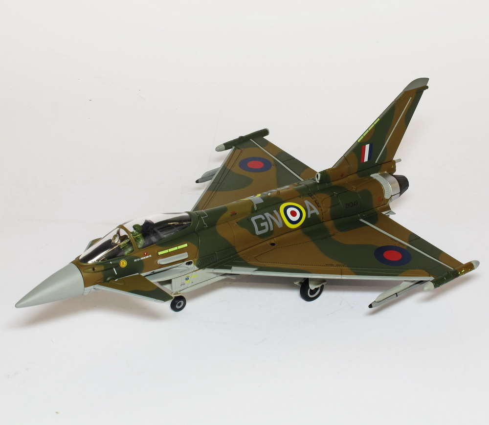 dora 9 diecast corgi eurofighter typhoon fgr 4 battle. Black Bedroom Furniture Sets. Home Design Ideas
