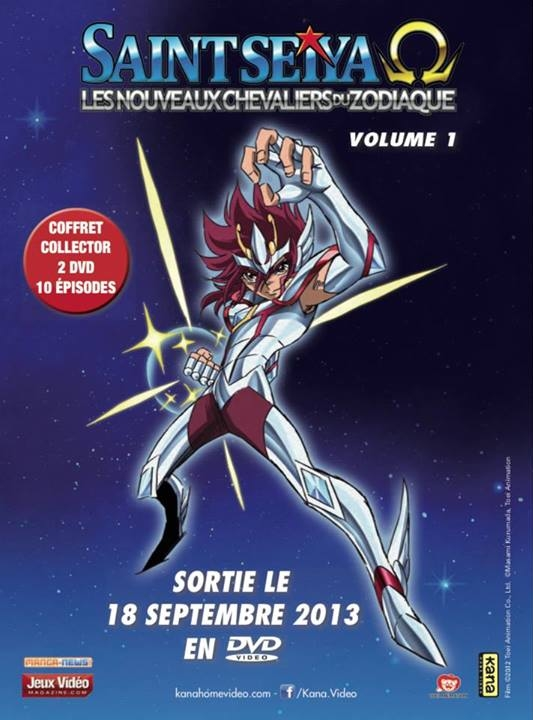 Saint Seiya Omega, Kana Home Video, Actu Japanime, Japanime, Toei Animation,