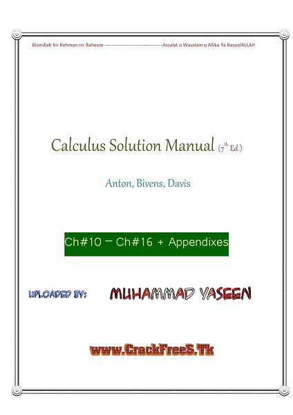 solution calculus by howard anton 7th ed ch11 ch16 uploaded by m rh crackfrees tk howard anton calculus 7th edition solution manual free download calculus 7th edition howard anton solution manual pdf