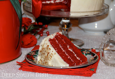 Deep South Dish Mamas Red Velvet Cake