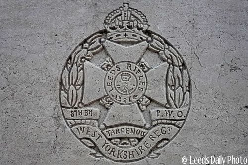 Leeds Rifles Badge