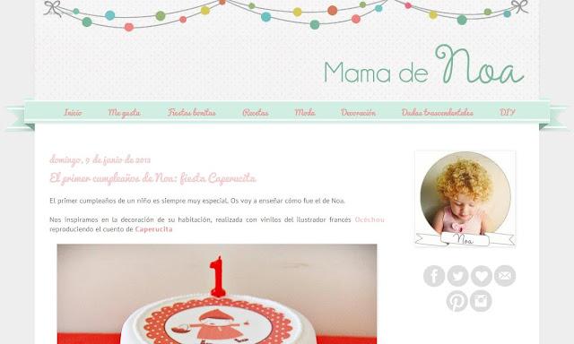 mama de noa blog http://mamadenoa.blogspot.com.es/