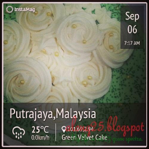 green velvet cakes sedap order bangi putrajaya murah penghantaran percuma