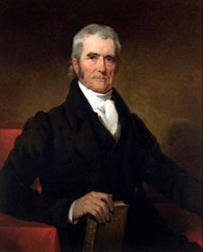 John Marshall, Federalist
