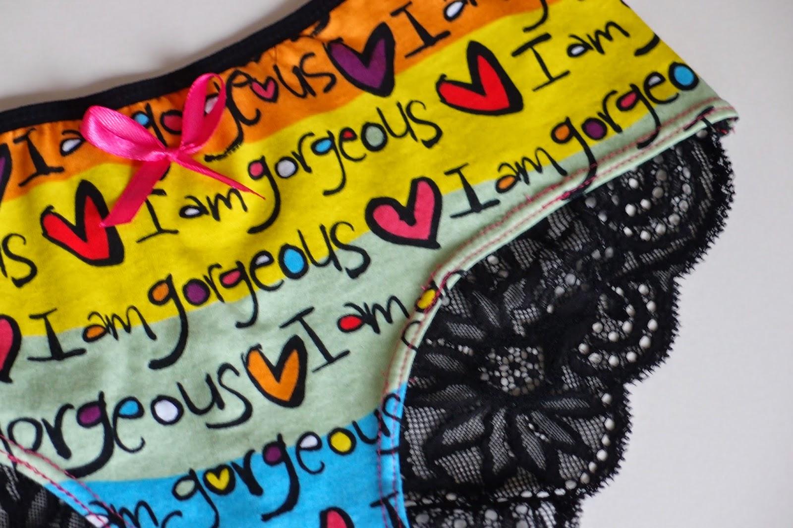 Lola Brazilian cut panties detail
