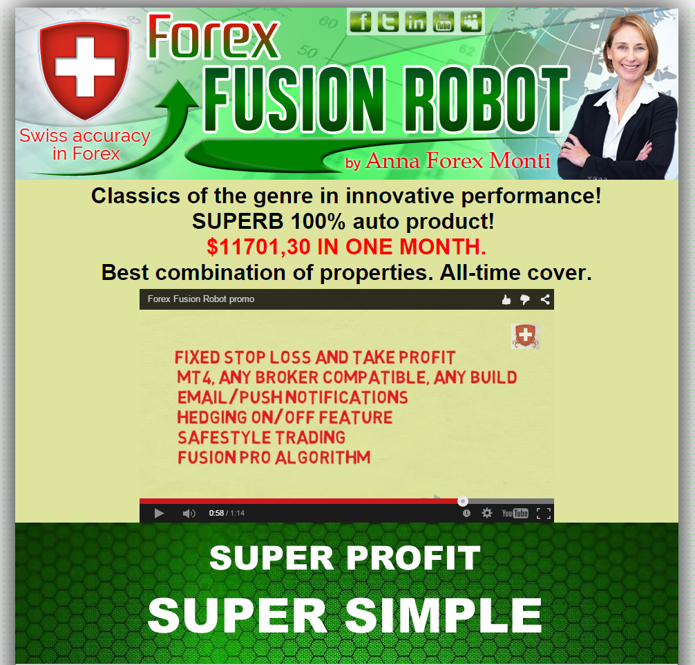 Forex Fusion Robot