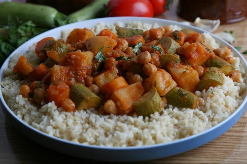 يخني الخضروات على الطريقة المغربية K43A4950